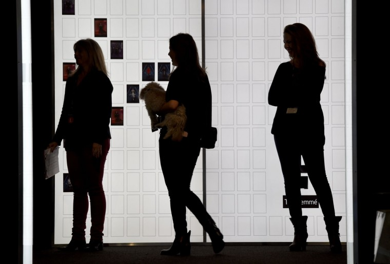 A view around the Arc, Skylight at Moynihan Station during the first day of the Fall 2016 New York Fashion Week: The Shows on February 11, 2016 in New York. (Timothy Clary/AFP/Getty Images)