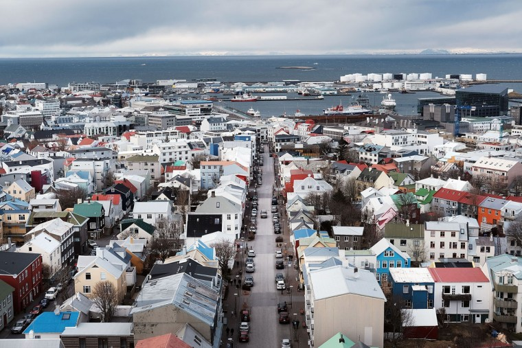 REYKJAVIK, ICELAND: REYKJAVIK, ICELAND: Downtown Reykjavik sits in the afternoon light following the government shake-up in the wake of the Panama Papers crisis on April 5, 2016 in Reykjavik, Iceland. Prime Minister Sigmundur David Gunnlaugsson has resigned after news broke on Sunday that he had hid his assets in an offshore shell-company whose existence was revealed by the Panama Papers. Numerous leaders around the world as well as wealthy individuals have been caught-up in the developing scandal. (Photo by Spencer Platt/Getty Images)