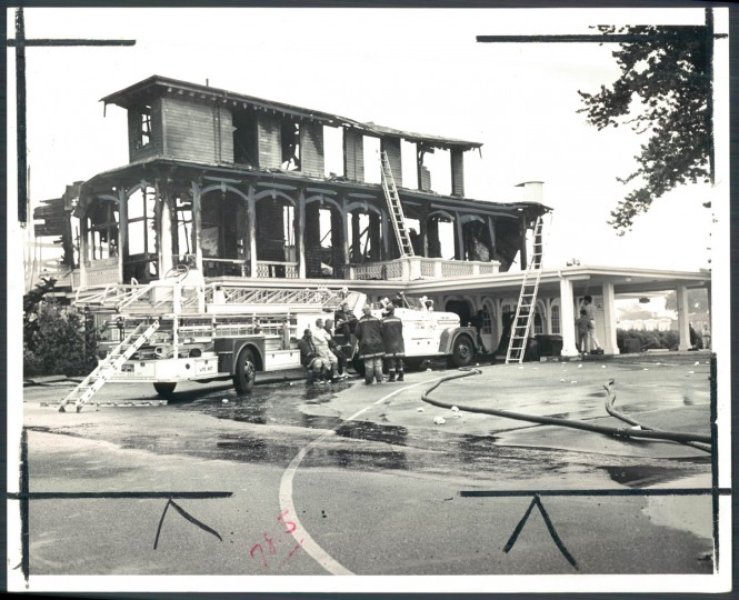 Kelly returned the following day with his family to see the ruins of the old Pimlico clubhouse. Hardly anything remained.