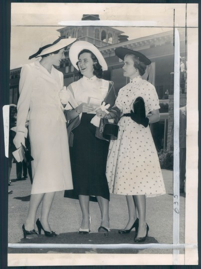 """""""The women were turned out in clothes that just made my eyes go around,"""" Kelly remembers of the Pimlico race course. """"I thought in the 50s and 60s it just looked like television – it looked like the movies, it was so damn glamorous."""""""