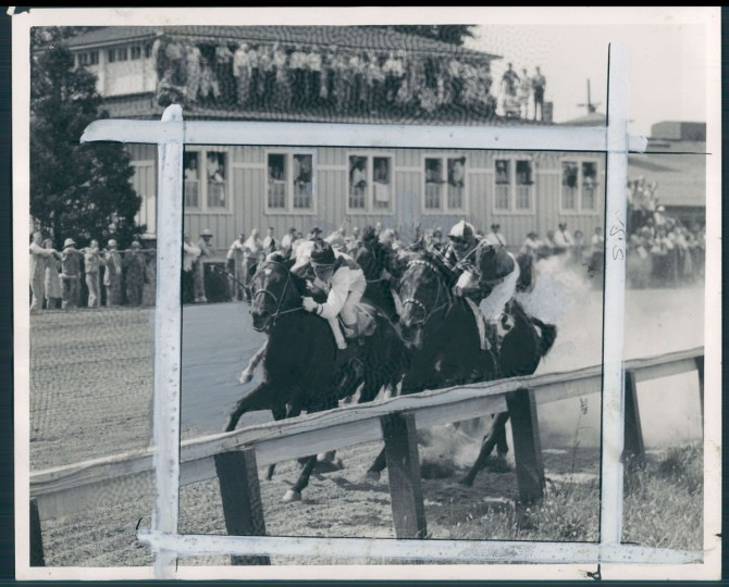 """Kelly describes the Preakness is as """"the great Baltimore sports event."""" In the days when Washington, D.C. was a smaller town and Baltimore the big city, Pimlico, or Old Hilltop, was seen as a major social event."""
