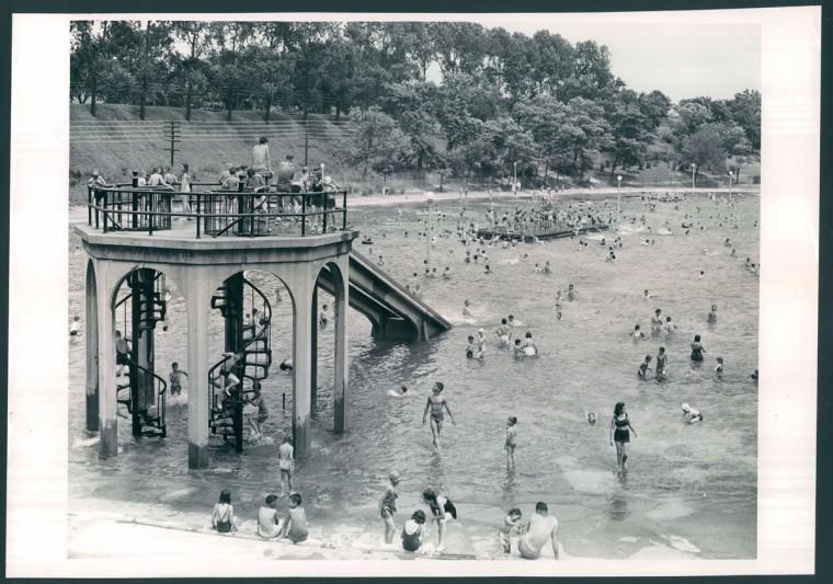 Clifton Park Swimming Pool, June 30, 1948 (Cosden/Baltimore Sun)