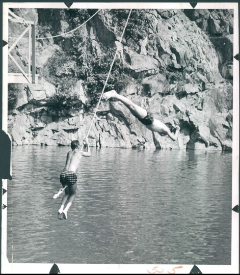 Milford Swimming Pool, June 30, 1959. (Garrett/Baltimore Sun)