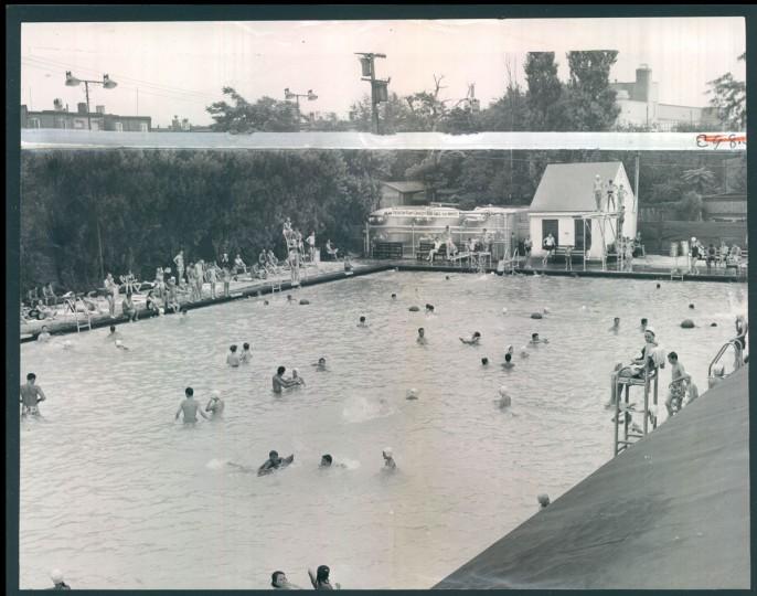 Lakewood Swimming Pool, May 29, 1966. (Klender/Baltimore Sun)