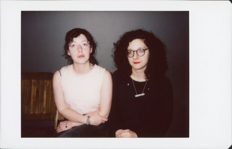 MDFF DJ Becca Morrin and MDFF photographer Jennifer Mizgata