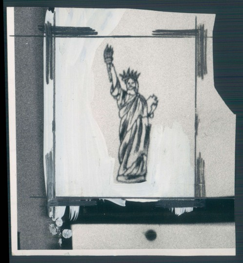 """A 1972 photo of a popular design by """"Tattoo Charlie"""" Geizer from The Sun archives."""