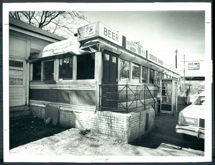 The State Diner, 1981. (Baltimore Sun)