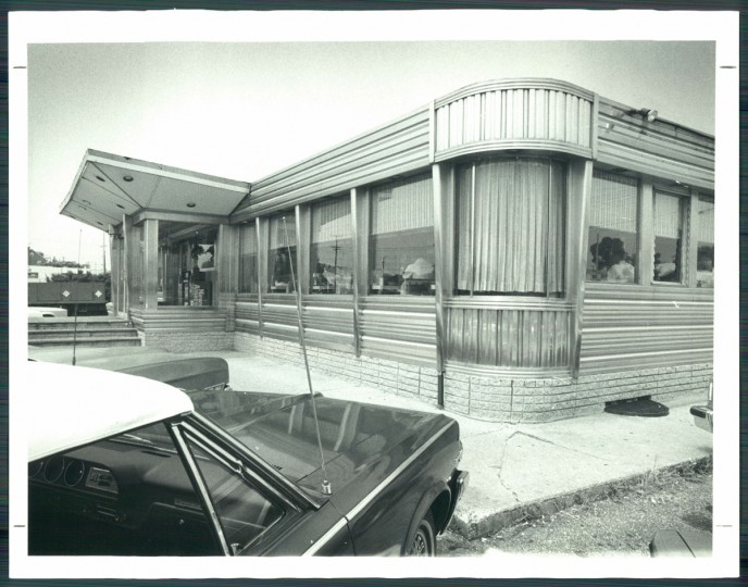 Double T Diner on Pulaski Highway, 1981. (Hutchins/Baltimore Sun)