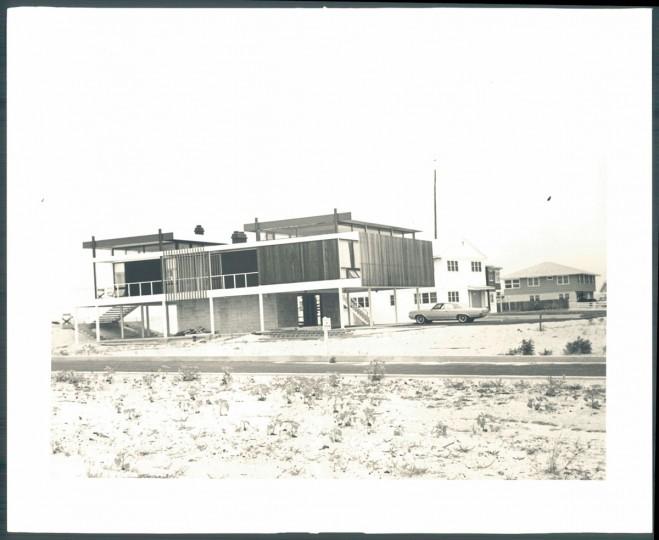 A beach house in Rehoboth on August 13, 1964. (Kniesche/Baltimore Sun)