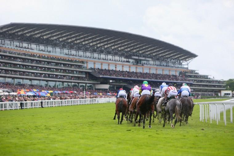 General view of the action during day 1 of Royal Ascot at Ascot Racecourse on June 14, 2016 in Ascot, England. (Photo by Charlie Crowhurst/Getty Images for Ascot Racecourse)