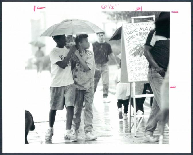 July 15, 1990. (Phillips/Baltimore Sun)