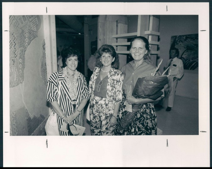 Left to right: Ailene Waranch, Vicki Arrigo; Anita Poloway. 1986. (Hamilton/Baltimore Sun)