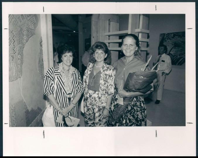 Left to right: Ailene Waranch, Vicki Arrigo; Anita Poloway. 1986. (Hamilton/Baltimore Sun)