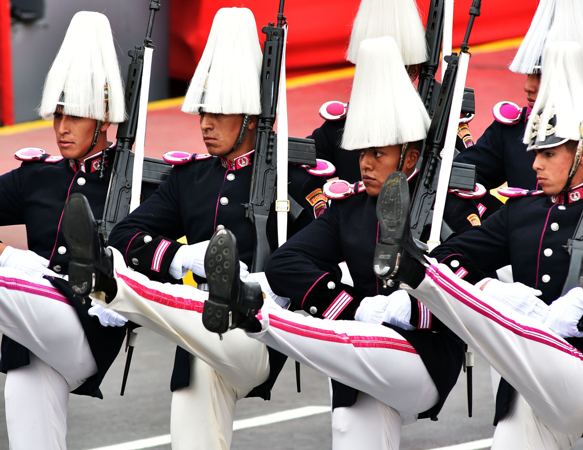 Peru Celebrates Country S Independence Day