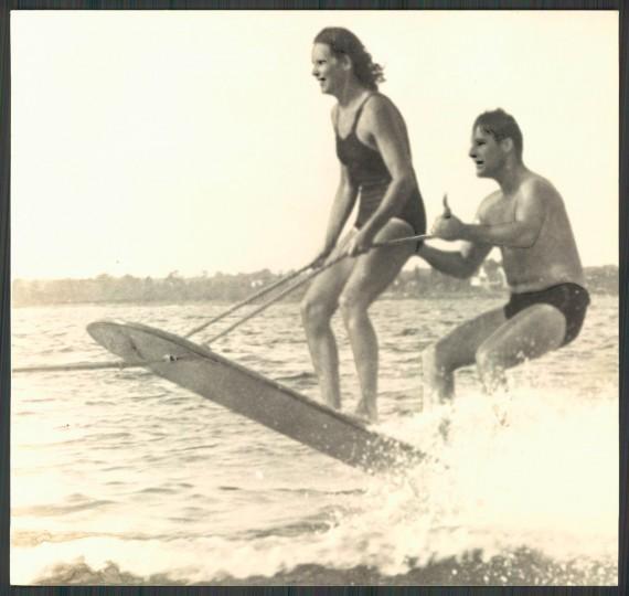 Aquaplaning, July 28, 1940.