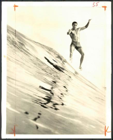 Felipe Pomar, world's surfing champion. April 28, 1966.