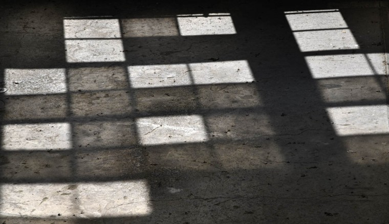 Some of the 3000 windows on the tailrace side of turbine hall cast shadows on the floor at the Exelon Conowingo Hydroelectric Plant, which has been producing electricity on the Susquehanna River since 1928. (Barbara Haddock Taylor, Baltimore Sun)