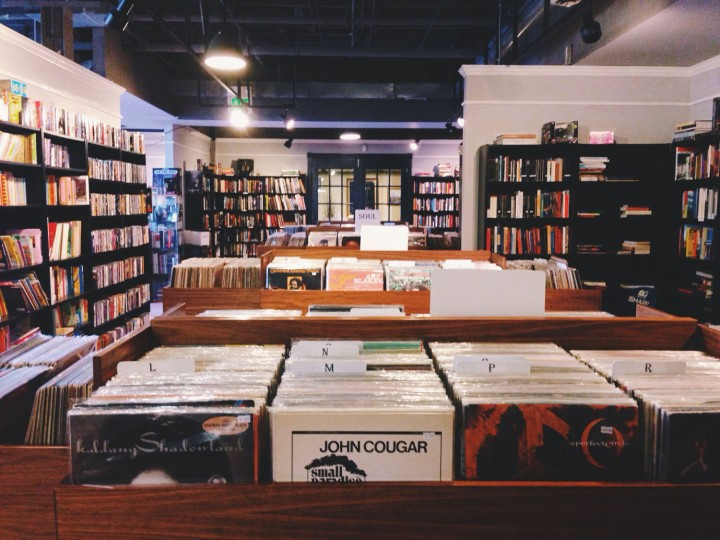 Protean Books & Records (836 Leadenhall St.) has been my favorite for used books and records, even when they had a much smaller space on Charles St.
