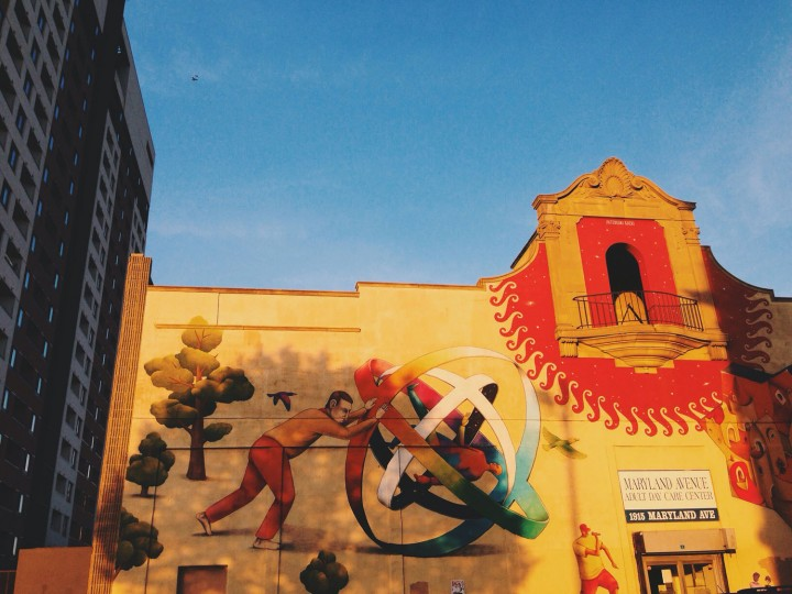 I stop (and sometimes go back around the block) for murals.
