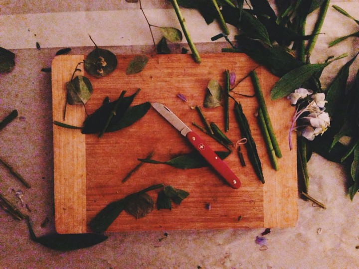 Midnight, but I'll happily arrange flowers until the sun rises again!