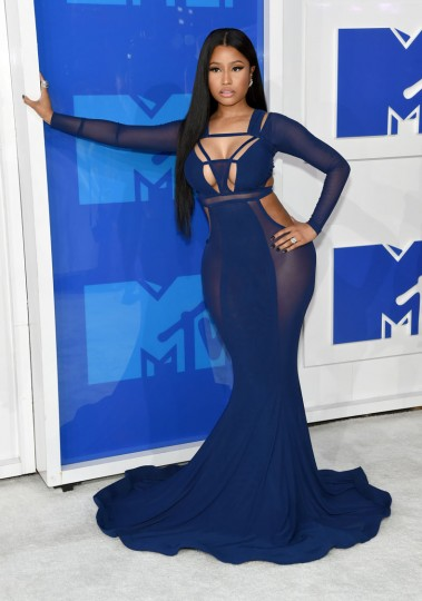 Nicki Minaj attends the 2016 MTV Video Music Awards at Madison Square Garden on August 28, 2016 in New York City. (Photo by Jamie McCarthy/Getty Images)