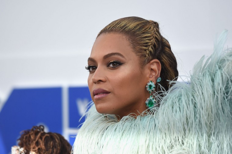 Beyonce attends the 2016 MTV Video Music Awards at Madison Square Garden on August 28, 2016 in New York City. (Photo by Jamie McCarthy/Getty Images)