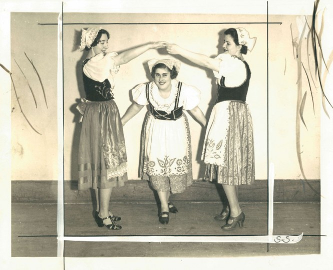 Czechoslovakian dancers at the YWCA's May Festival. Photo dated May 15, 1936. (Baltimore Sun Archives)