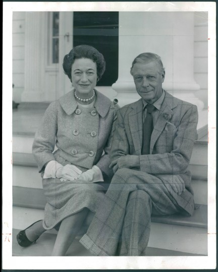 The Duke and Duchess of Windsor visited Maryland in 1959. (Bodine/Baltimore Sun)