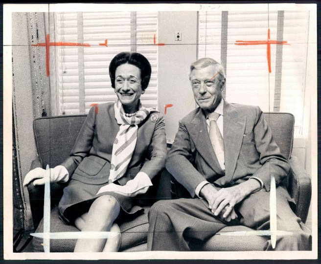 The Duke and Duchess of Windsor in 1970.