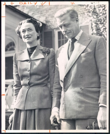 Duke and Duchess of Windsor at Maryland Hunt Cup in 1959.