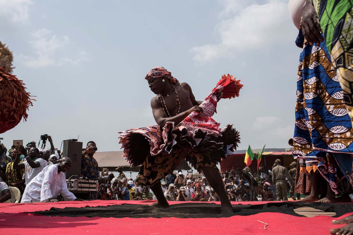 Voodoo celebrated at Benin's annual festival