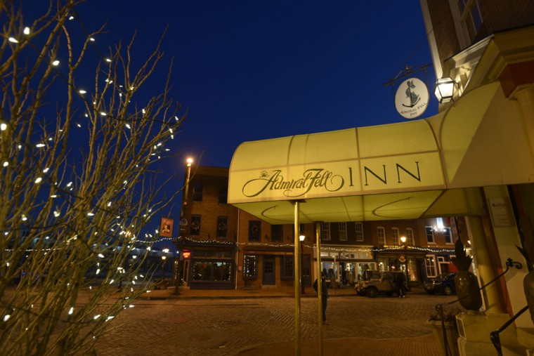 The Admiral Fell Inn, formerly known as the Anchorage. (Christina Tkacik/Baltimore Sun)