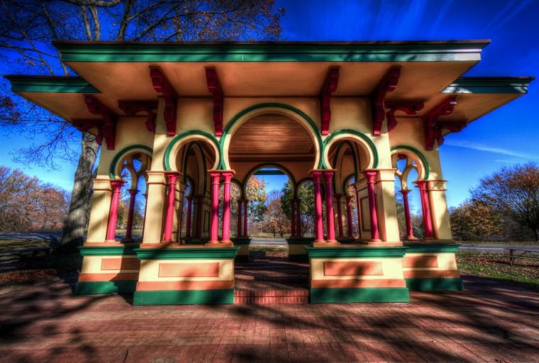 Pavilion at Druid Hill Park. (Photo courtesy of Doug Ebbert)