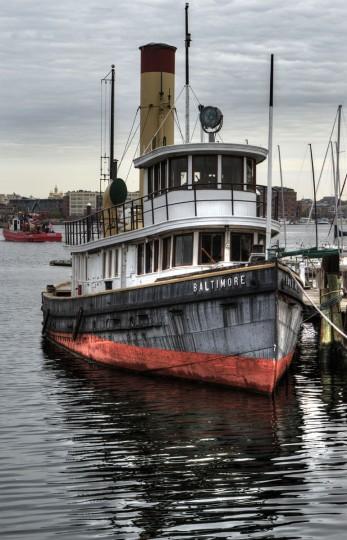 Along the water in Baltimore. (Photo courtesy of Doug Ebbert)