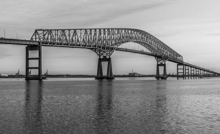 Key Bridge, Baltimore. (Photo courtesy of Doug Ebbert)