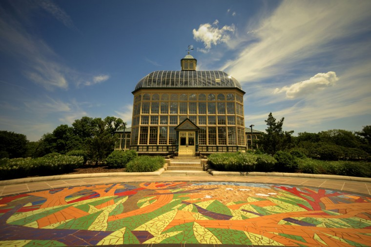 Druid Hill Park Conservatory. (Photo courtesy of Doug Ebbert)