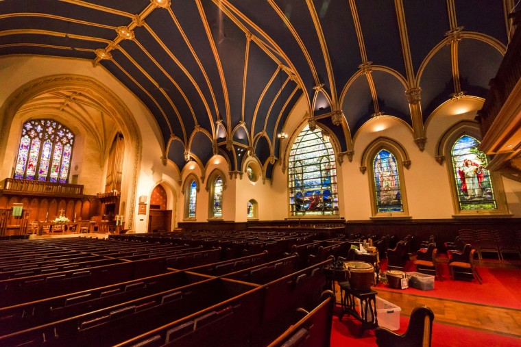 Brown Memorial Church in Baltimore. (Photo courtesy of Doug Ebbert)