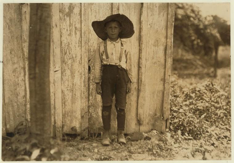 John Slebzak. Location: Baltimore, Maryland. 1909 July. (Lewis Hine/Photo courtesy LOC)