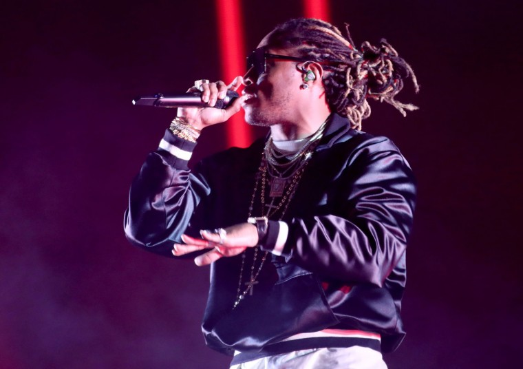 Rapper Future performs on the Coachella stage during day 3 of the Coachella Valley Music And Arts Festival (Weekend 1) at the Empire Polo Club on April 16, 2017 in Indio, California. (Photo by Christopher Polk/Getty Images for Coachella)