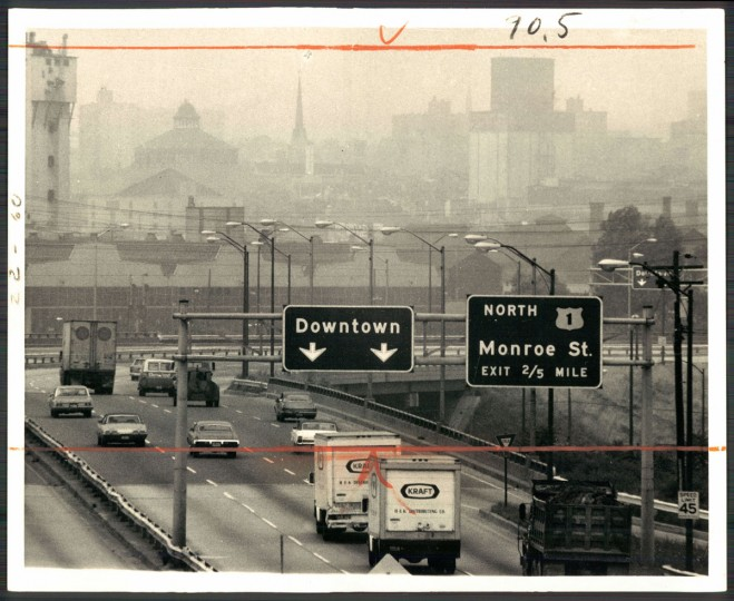 """Although downtown Baltimore appears shrouded in smog, pollution was not serious enough yesterday for the National Weather Service to issue an air pollution alert,"" read the caption from this Baltimore Sun photo dated July 10, 1973."
