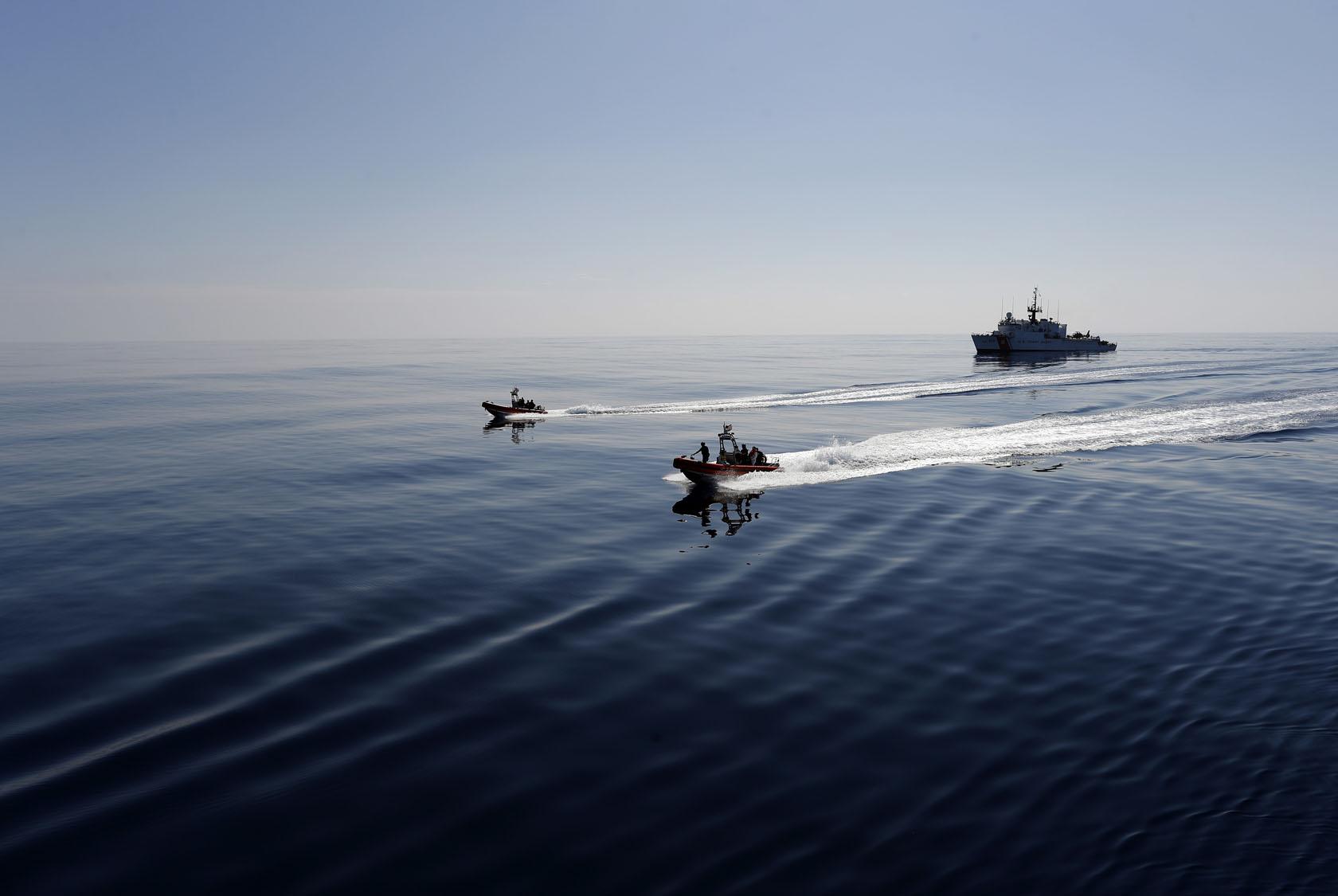 Apphoto Aptopix Colombia Cocaine Sea Smugglers
