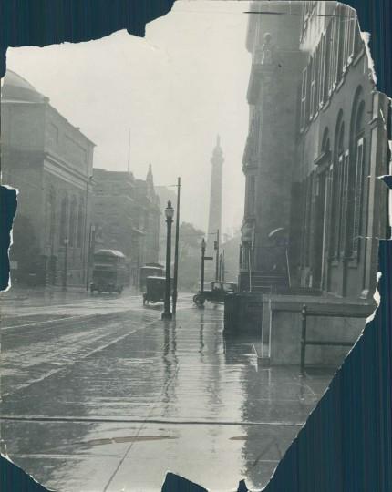 Mount Vernon Place in 1925. (Baltimore Sun photo)
