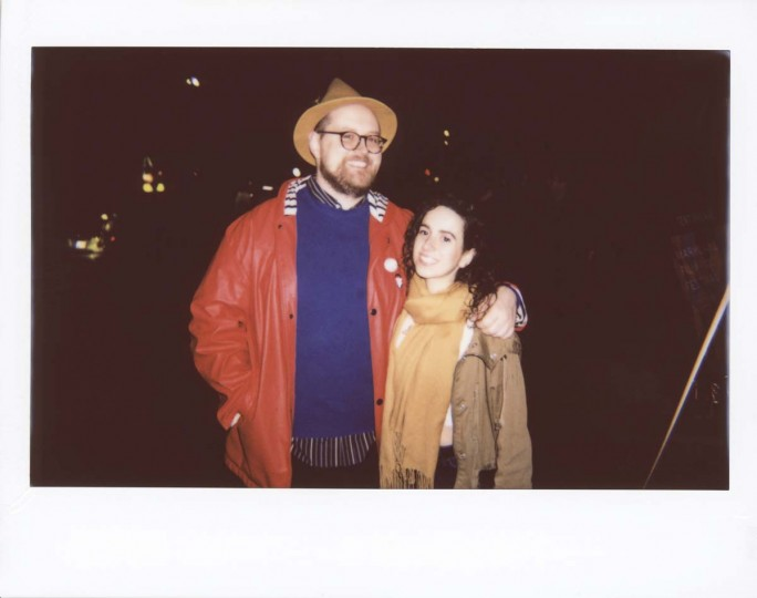 "Dan Deacon, Baltimore-based musician and composer of the score for feature ""Rat Film,"" with friend."