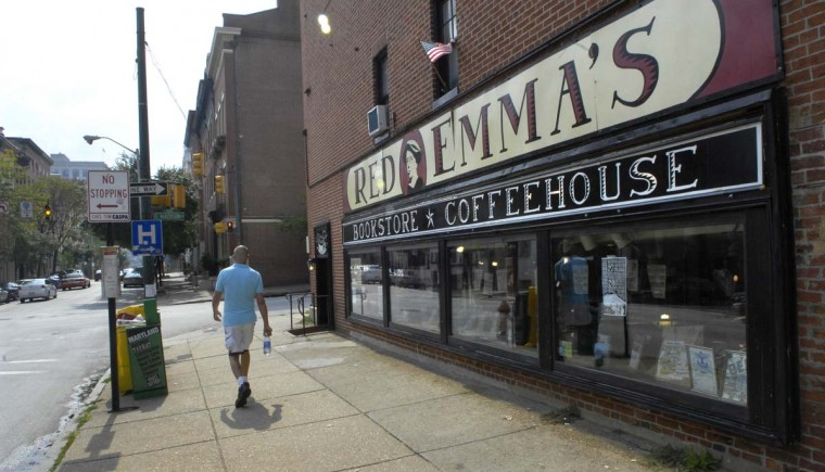 Red Emma's on St. Paul St. is pictured on Sept. 30, 2008. (Baltimore Sun photo by Jed Kirschbaum)