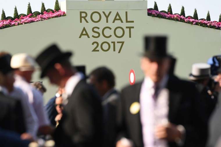 Top hats are the order of the day in the Royal Enclosure on the opening day of Royal Ascot at Ascot Racecourse on June 20, 2017 in Ascot, England. (Photo by Mike Hewitt/Getty Images)