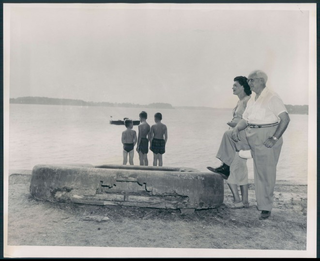 Baltimore County Picnic at Bay Shore Park, photo dated August 8, 1955. (Baltimore Sun archives)