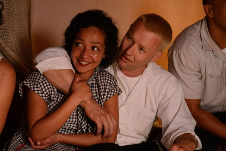 """In """"Loving,"""" Ruth Negga and Joel Edgerton play the real-life couple Mildred and Richard Loving. (Photo courtesy Cannes International Film Festival/TNS)"""