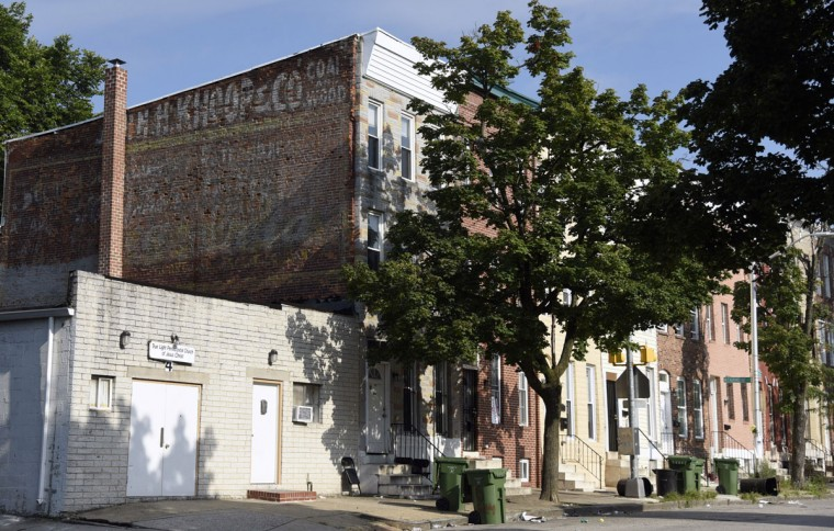 Knoop Co. Coal and Wood on N.Gilmor St. (Kim Hairston/Baltimore Sun)