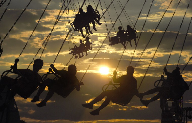 The 136th Maryland State Fair begins with a Ridemania night on Thursday. (Lloyd Fox/Baltimore Sun)