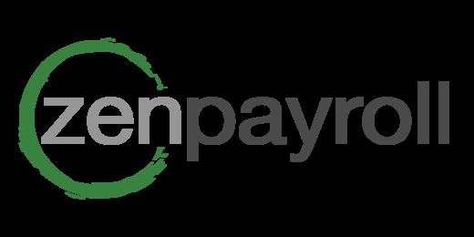 Zenpayroll logo on white